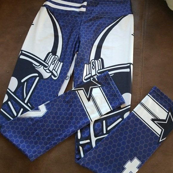 396870c57 Dallas Cowboys NFL Football Sport Pants Leggings. M 5a5a4596caab44ef136e9566
